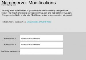 Locate your name server before switching your WordPress Website